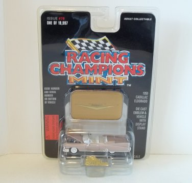 RACING CHAMPIONS MINT 1:69 1959 CADILLAC ELDORADO '59 #78 NRFP 1 OF 19,997