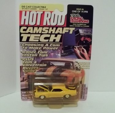 RACING CHAMPIONS HOT ROD 1:57 1969 CHEVY CAMARO '69 #6 NRFP 1 OF 19,998