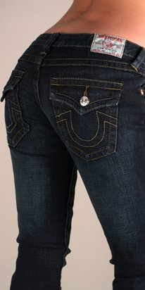 TRUE RELIGION JULIE SKINNY JEAN SZ 30