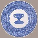 NEW SPODE BLUE ROOM WARWICK VASE  DINNER PLATE