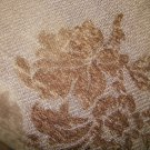 NEW MELANGE HOME BROWN CHENILLE FLORAL THROW