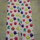NEW WOMAN'S PLUS BOBBIE BROOKS OWL FLEECE LOUNGE PANTS 2X
