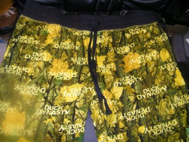NEW WOMAN'S CAPRI DUCK DYNASTY LOUNGE PANTS XL
