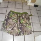 NEW MEN'S REALTREE CAMOUFLAGE BOARD SHORT SWIMSUIT L