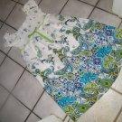 NEW GIRLS PLUS SPEECHLESS SMOCKED PAISLEY BABYDOLL DRESS 14.5