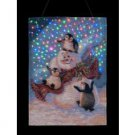 Dona Gelsinger 13 x 18in Blizzard Buddies illuminated Tapestry