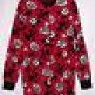 New Disney Mickey Myouse 1Pc Footed fleece Pajamas XL Juniors