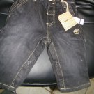 NEW TIMBERLAND 12 1LAND INFANT BOY DARK WASH STRAIGHT LEG JEANS 12NI
