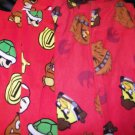NEW 2 BOYS SEARS LOUNGE PAJAMA BOTTOMS PRINTED 10 RED