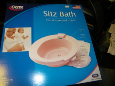 NEW CAREX SITZ BATH FITS STANDARD TOILETS