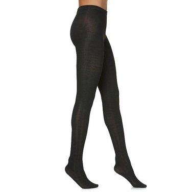 NEW Studio S Women's Tights - Chevron M / L BLACK GRAY