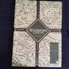 NEW WATERFORD MARLEY PAISLEY TABLECLOTH PLATINUM 60X104