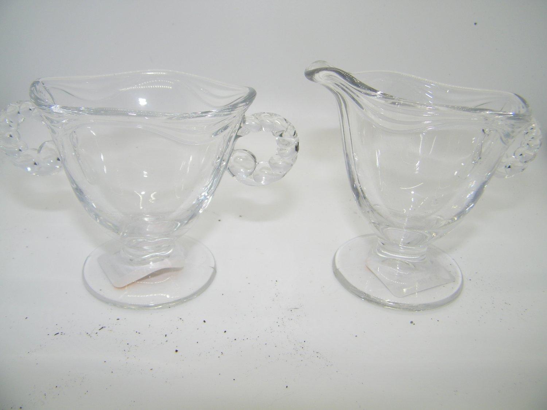 VINTAGE GLASS WAVE DESIGN TRIM IMPERIAL W/ CANDLEWICK