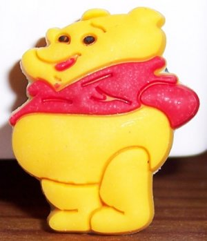 POOH SHOE CHARM FOR ALL CLOGS AND CROCS