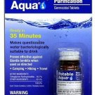 New Potable Aqua Water Treatment 50 Tablets Water is Ready Within 30 Minutes