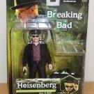 "Breaking Bad Heisenberg Walter White Figure MEZCO 6"" NEW  Mint On Card"