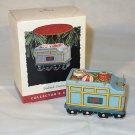 Hallmark Yuletide Central Pressed Tin Train Tender Car Ornament 1995 #2 MIB