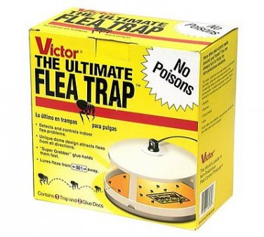 New Victor M230 Ultimate Flea Trap Pet and Home Prontection