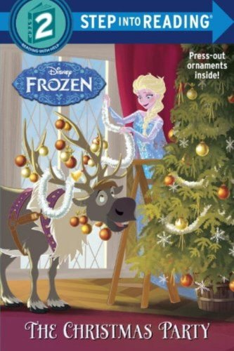 The Christmas Party (Disney Frozen) (Step into Reading) NEW Fast Ship