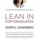 Lean In: For Graduates Hardcover by Sheryl Sandberg
