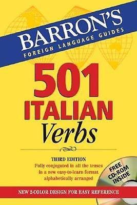 501 Italian Verbs: with CD-ROM  by John Colaneri