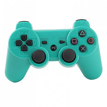 Green Wireless Controller for PS3