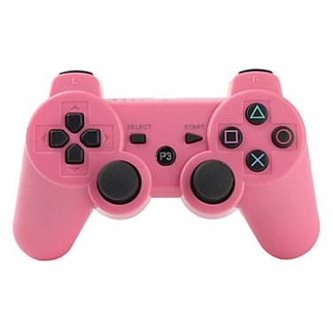 Pink Wireless Controller for PS3
