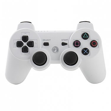 White Wireless Controller for PS3