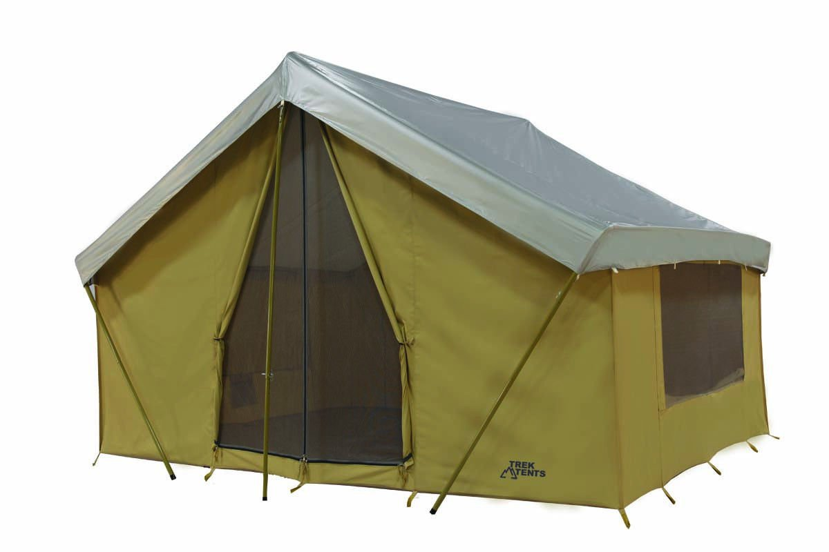 New Trek Base Camp Tent 14 X 10 Canvas Tent With Custom