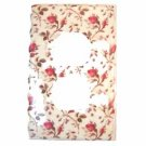 Pink Rose Buds with Stems Electrical Outlet Plate Cover (LS186E)