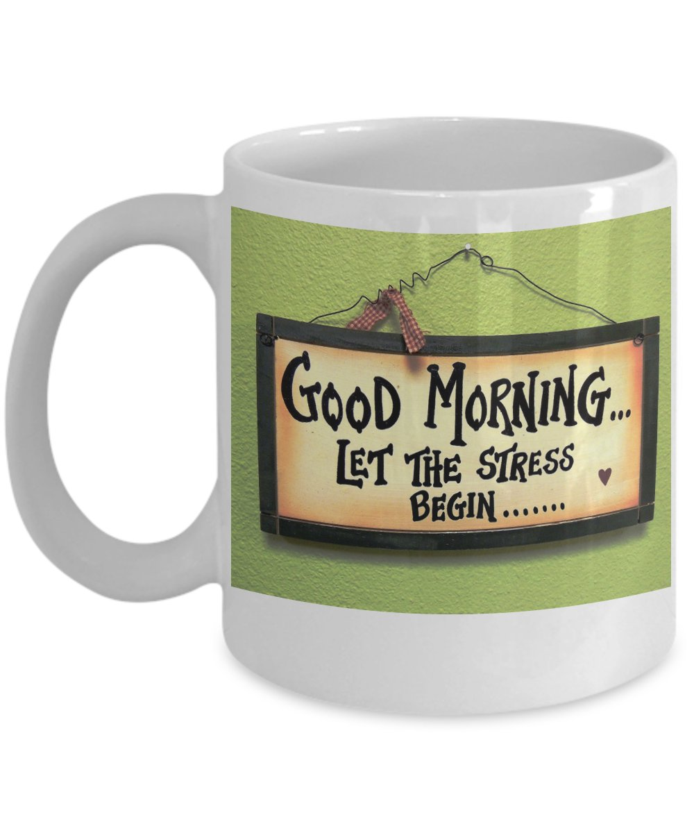 Let the Stress Begin... Mug - FREE Shipping!