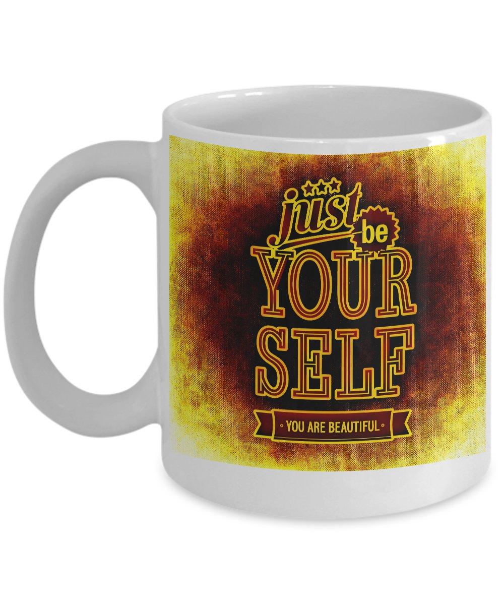 Be Your Self - Motivational Coffee Mug - FREE Shipping!