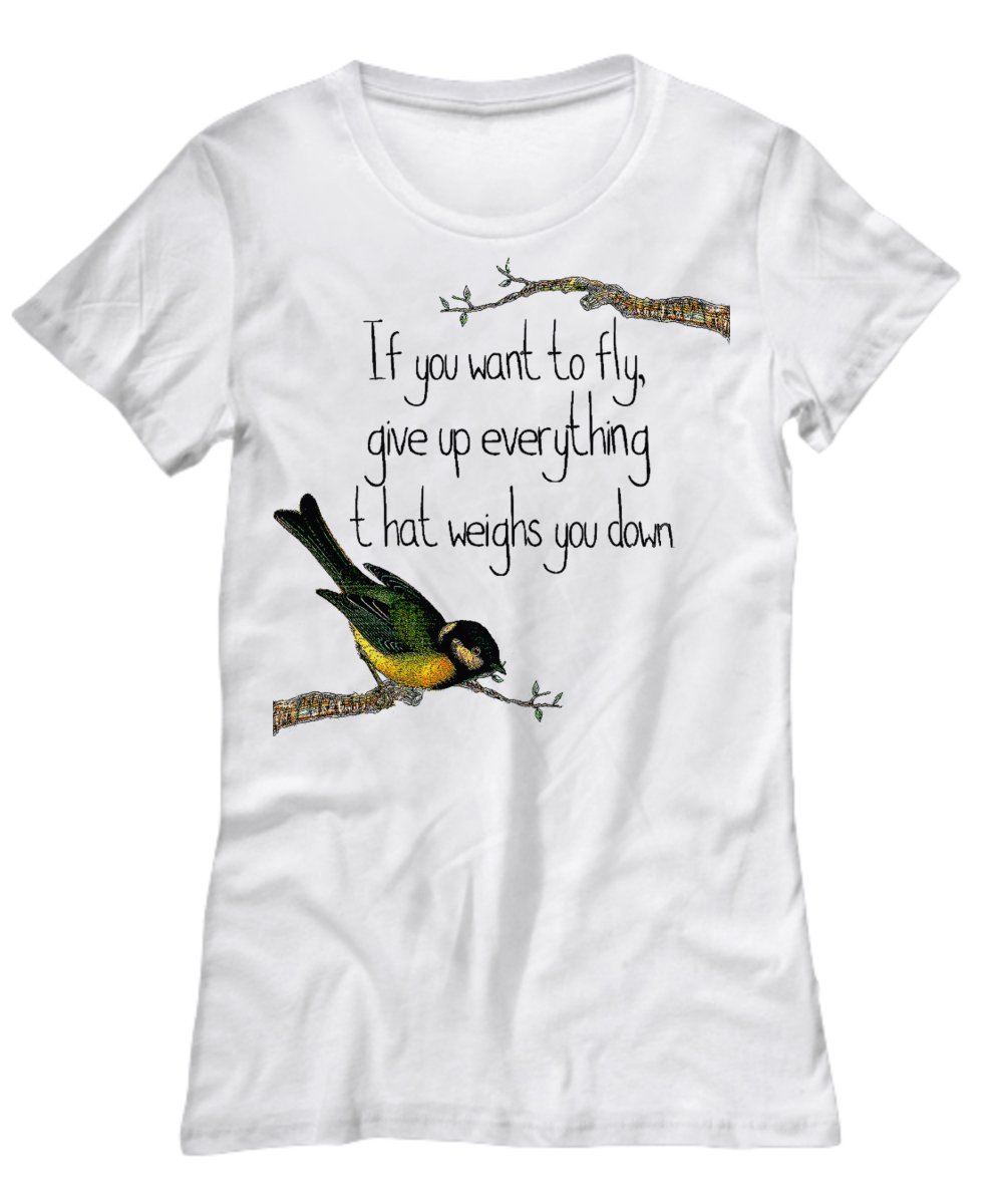 Fly Motivational T-shirt - FREE Shipping!