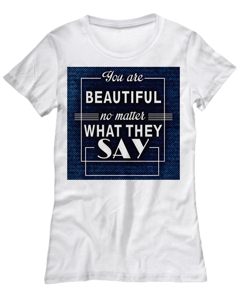 You Are Beautiful T-Shirt - FREE Shipping!