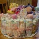 Themed 1 Tier Diaper Cake