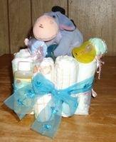 Themed Mini Diaper Cake