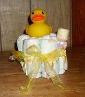 Themed Diaper Cupcake