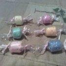 6 pc Candy Washcloths