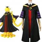 Assassination Classroom Class 3-E Teacher Koro-sensei Uniform Costume Cosplay