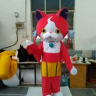 CosplayDiy Unisex Mascot Costume Youkai Watch Jibanyan Cartoon Mascot Costume For Christmas Party