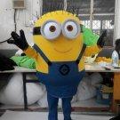 CosplayDiy Unisex Mascot Costume Cartoon Movie Despicable Me Minion Mascot Costume Cosplay