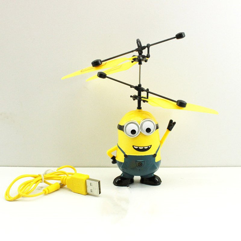 2015 Hot Sale Despicable Me Minions Toys Aircraft Model Remote Control Helicopter