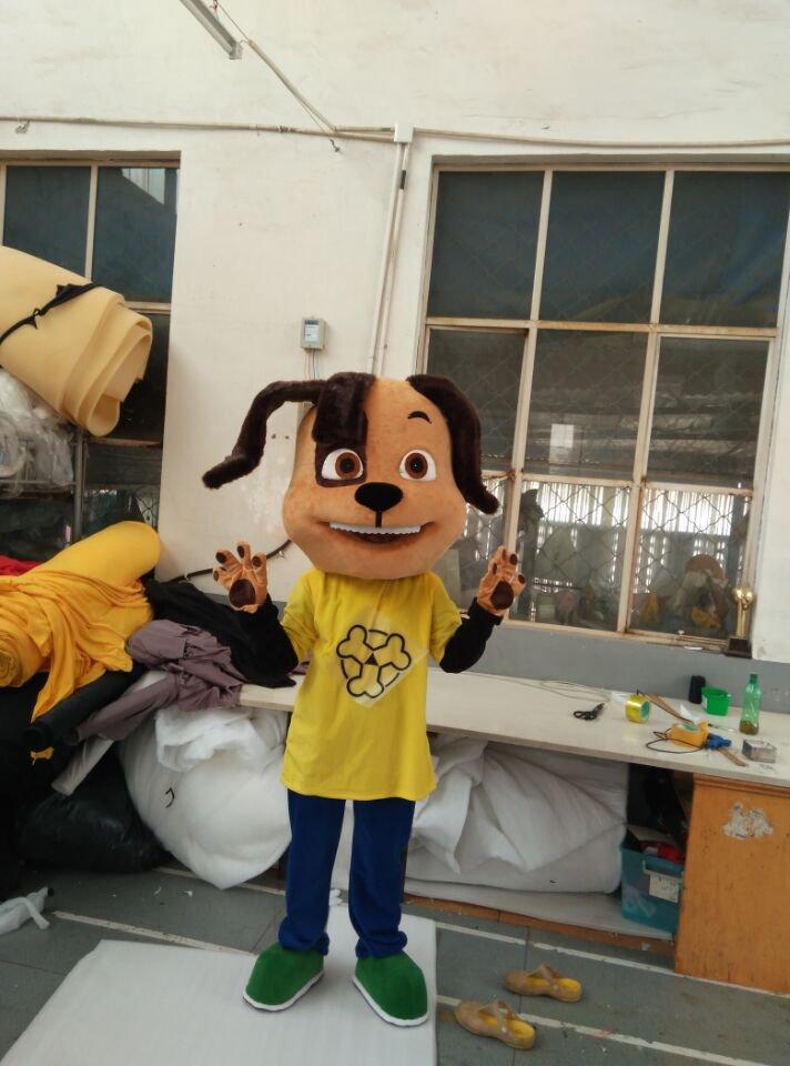 CosplayDiy Unisex Mascot Costume Cute Dog Mascot Costume Cosplay For Party