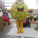CosplayDiy Unisex Mascot Costume Fruit Yellow Pineapple Mascot Costume Cosplay For Carnival