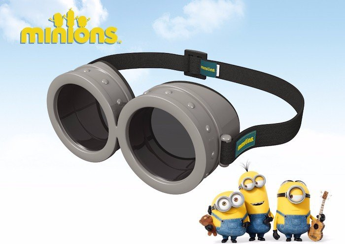 Minions Passive Polarized Circular Cute 3D Glasses RealD For 3D TV