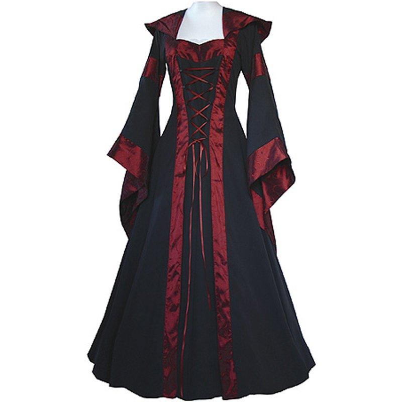CosplayDiy Women's Maria Medieval Renaissance Victorian Dress Costume