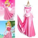 CosplayDiy Women's Dress Pink Princess Sleeping Beauty Dress Cosplay