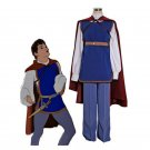 CosplayDiy Men's Costume Snow White And The Seven Dwarfs Prince Florian Cosplay Christmas Outfit