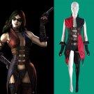 Cosplaydiy Women's Dress Sucide Squad Harley Quinn Cosplay Costume