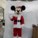 CosplayDiy Unisex Mascot Costume Christmas Mickey Mouse Mascot costume Cosplay For Christmas Party